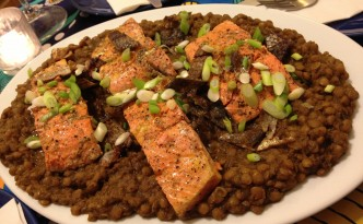 Salmon and lentils lr