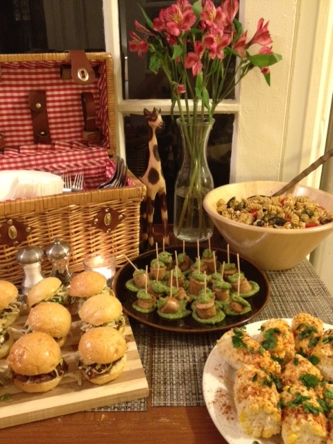 Picnic and summer inspired party.
