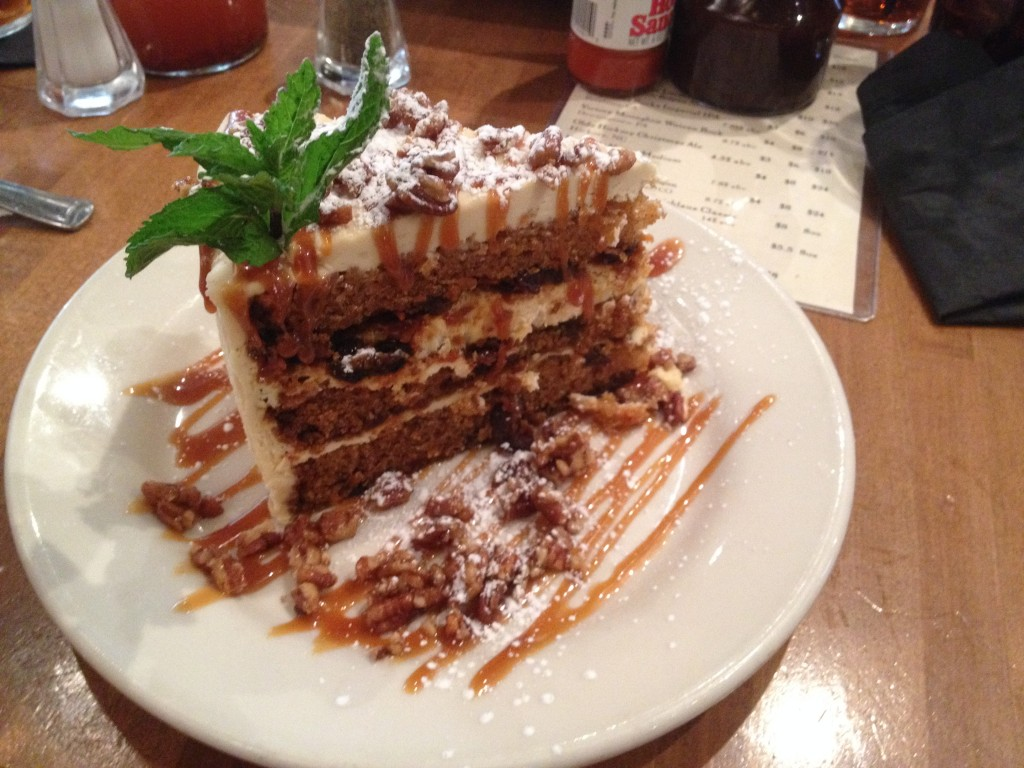 The Pit's carrot cake