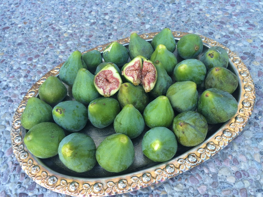 how to eat a fresh green fig